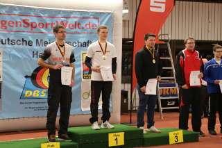 Glückwunsch an Leon Hollas zum neuen Deutschen Meister Halle DSBV Recurve