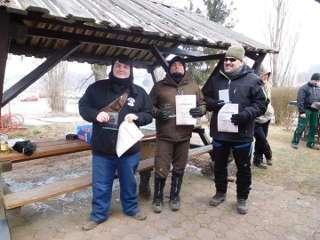 Compounder Ronny Schmidt ergatterte sich bei Minusgraden den 1. Platz