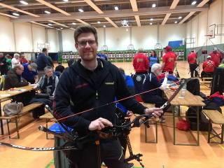Philipp Räder kam auf Platz 5 des finalen Wettkampfes des Hallenchampionats