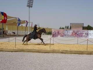 Die Veranstaltung Al-Faris ist im Berittenen Bogensport eine große Ehre