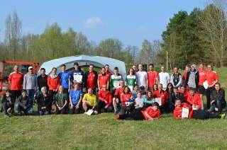 Die Teilnehmer des Werderaner Bogenlaufes 2018