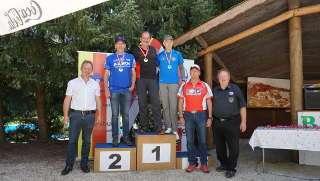 Franz sicherte sich den 1. Platz bei den Compound Senioren