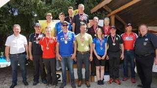 Die Medaillenträger des WM-Vorbereitungsturnieres in Klagenfurt