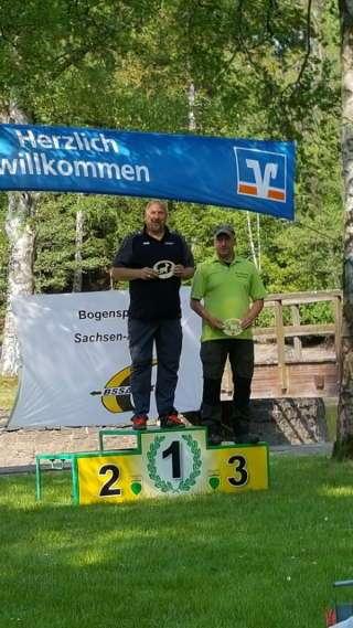 3. Platz bei der LM Wald in Hasselfelde für Heiko