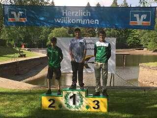 Bei der LM Wald sicherte sich Marten mit 350 Punkten den Goldplatz