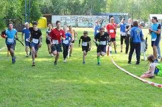 Auch in Lübbenau beim Spreewälder Bogenlauf war ein breites Starterfeld vertreten