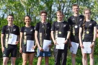 Das DSB Run Archery Team Deutschland zeigte Präsenz in Lübbenau