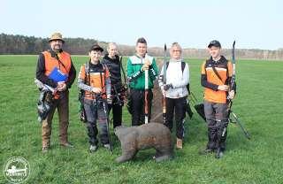 Hannes Gruppe beim 11. Heide-Wald-Pokal