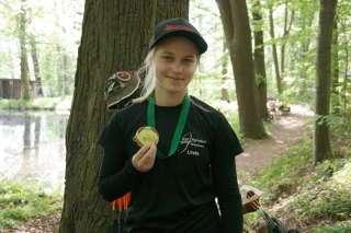 Gold für Linda bei der Sächsischen Landesmeisterschaft 3D