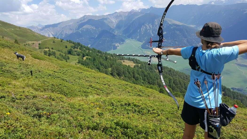 Bogensport bringt einen an Orte, da kommt man sonst niemals hin!
