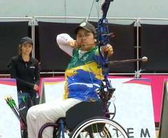 Jane Karla Gögel bei den Panamerikanischen Championships in Medellin