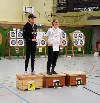 Annika Rennett wurde Vize-Meister BVNW