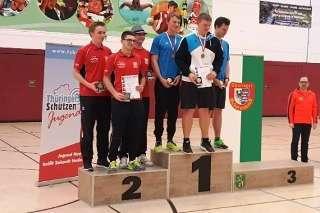Hannes Fuhrmeister und sein Team vom SV Stahl Unterwellenborn holte Silber bei der LM