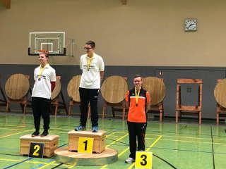 Hannes Hecht erzielte auf dem Concordiasee-Turnier den 3. Platz (2. Platz AK)