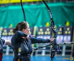 Daniela Klesmann nahm dieses Jahr erstmals an den KOA in Eindhoven teil