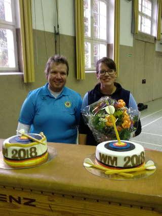 Die WM-Gewinner: Volker und Daniela wurden gefeiert