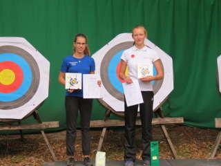 Recurveschützin Elsan Neumann gewann den DEVA Herbstpokal in Berlin-Wannsee