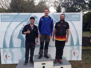 Auch auf der DM Bowhunter des DFBV gewann Philipp in diesem Jahr die Silbermedaille