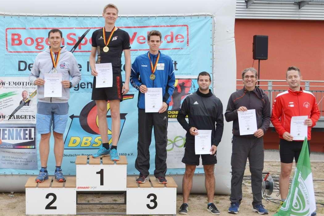 Bei den Standard-Herren konnte Marco Kreische seinen Vorjahrestitel Deutscher Meister verteidigen