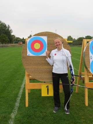 Elsa Neumann freute sich sehr über ihren neuen Landesrekord MV