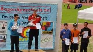 Auch Hannes konnte Gold erzielen und ist damit Deutscher Meister DBSV 2018