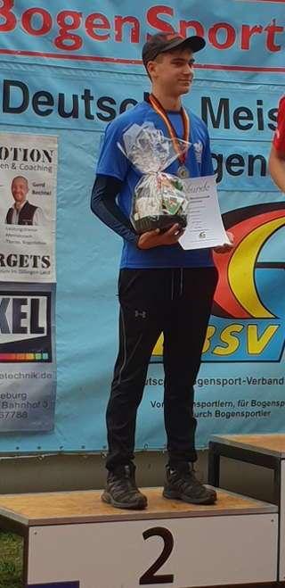 Lukas Lange wurde deutscher Vize-Meister DBSV 2018