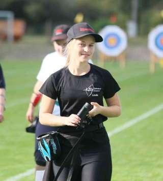 Linda Mentzel erzielte auf der DM den 4. Platz