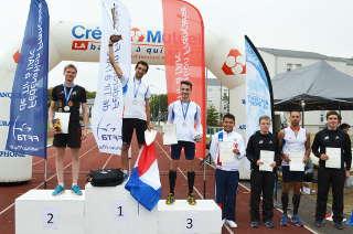 Der 2 .Platz in der Gesamtwertung Europacup Bogenlaufen geht an: Marco Kreische