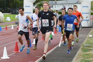 Die internationale Bogenlauf-Konkurrenz lieferte sich ein hartes Rennen