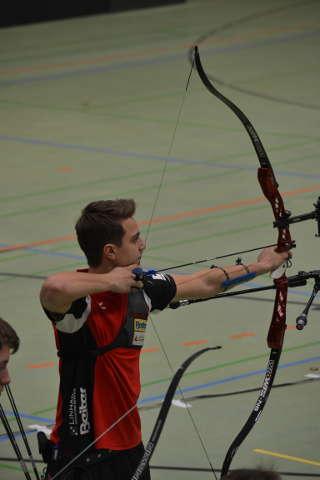Moritz Wieser konnte sich auch auf der Bezirksmeisterschaft durchsetzen