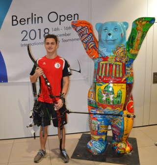 Auch auf den Berlin Open zeigte Moritz ein super Ergebnis!