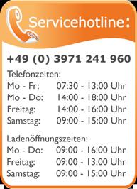 Servicetelefon 03971 241960